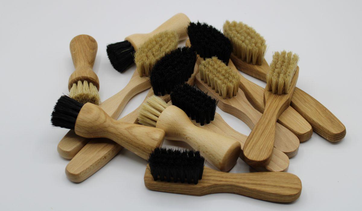 Nos brosses à chaussures 100 % fabrication française
