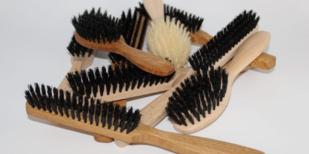 brosses à cheveux plate